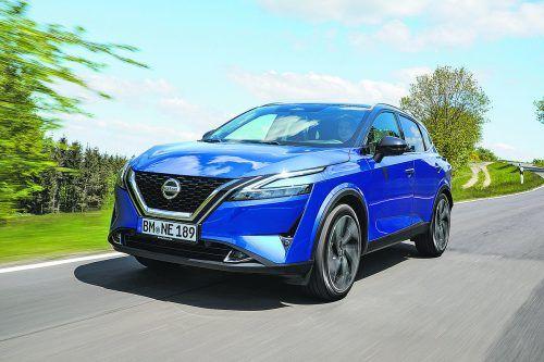 Nissan hat den Qashqai optisch evolutioniert und die Antriebe unter Strom gesetzt.werk