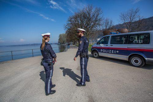 Österreichweit berichtet das Innenressort von 3278 Infektionen.VN/Steurer