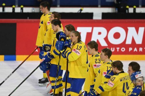Pleite beim Eishockey-WM-Turnier in Riga für das Nationalteam von Schweden. Die Mannschaft von Johan Garpenlöv fliegt nach der Vorrunde nach Hause. ap