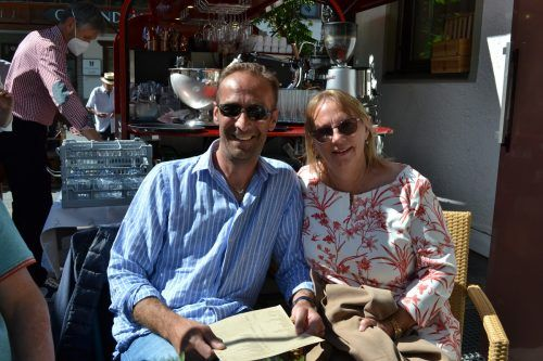 Reinhard und Birgit Bischof ließen sich den Event nicht entgehen.