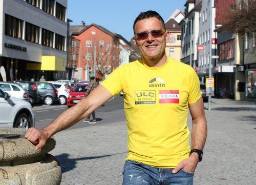 """Richard Föger will mit """"Bludenz läuft"""" ein Zeichen setzen.schwald"""