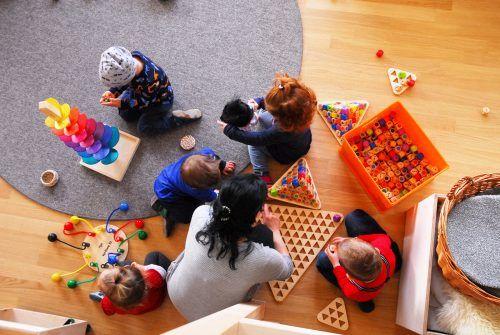 Rund 390 Kinder besuchen eine Kinderbetreuungseinrichtung in Rankweil. Ihre Eltern wurden befragt.Marktgemeinde