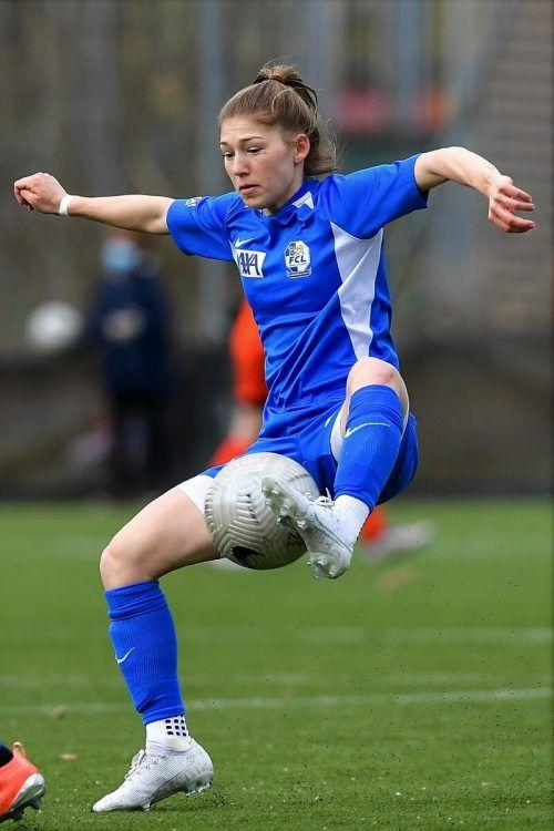 Sarah Klotz zeigte auf der linken Abwehrseite des FC Luzern eine ganz starke Leistung.Scherrer
