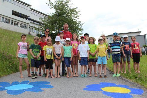 Seit Anfang Juni blühen die Straßen in Viktorsberg.VS Viktorsberg (3)