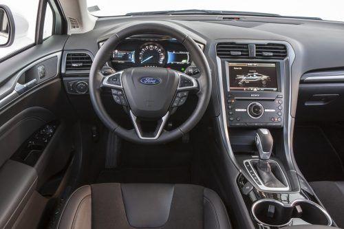 Serienmäßig stets an Bord: Das Ford-Infotainmentsystem namens Sync3.