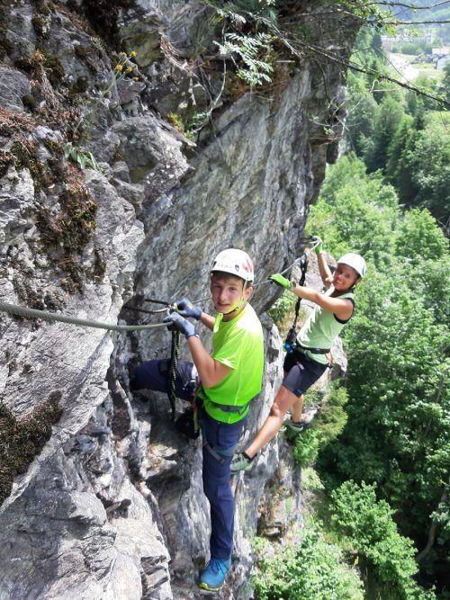 """""""Sicher am Berg-Klettersteigkurs"""" gemeinsam mit dem Team vom Alpenverein Rankweil.alpenverein vorarlberg"""