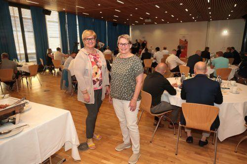 Silvia Hölzl und Heidi Wohlgenannt (Vorwerk).