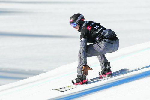 """Snowboardcrosser Alessandro """"Izzy"""" Hämmerle wurde zum fünften Mal in Folge als Sportler des Jahres ausgezeichnet. GEPA"""