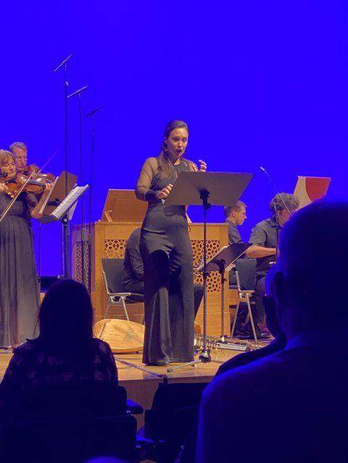 Solistin Ida Aldrian überzeugte mit ihrer schlanken, beweglichen und ausdrucksfähigen Stimme. Lilli Löbl