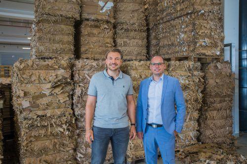 Stefan Flatz und Simon Spiegel (li.)