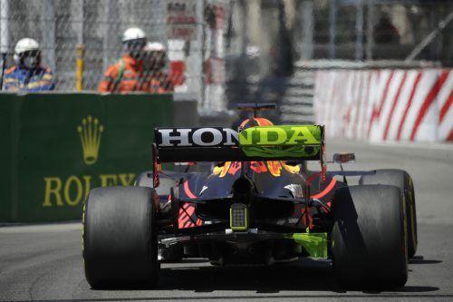 Stein des Anstoßes im Streit zwischen Mercedes und Red Bull ist der bewegliche Heckflügel von Max Verstappen.AP