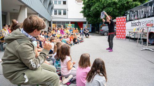 Susa Hämmerle besuchte die Volksschule Schruns.