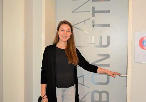 Theresa Bahro ist seit zwei Jahren Sozialarbeiterin im Kaplan-Bonetti-Haus. Ihr Ressort ist in der Beratungsstelle. eh
