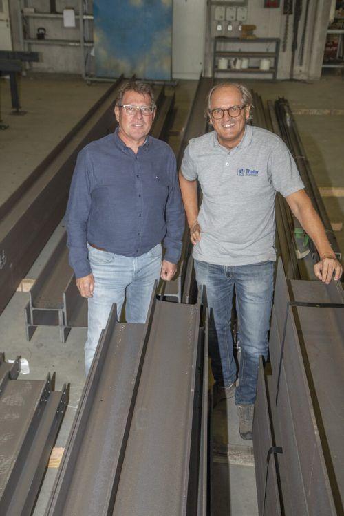 Thomas und Christian Thaler freuten sich 2020 über den KMU-Preis.VN/RP