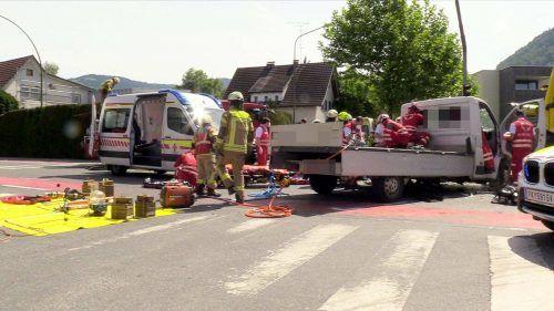 Trotz sofortiger Hilfsmaßnahmen kam für das Opfer jede Hilfe zu spät.
