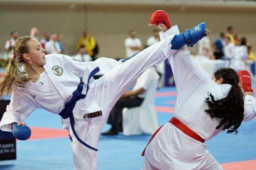 U-16-Europameisterin Hanna Devigili aus Fraxern erkämpfte sich bei der WKF-Youth-League auf Zypern den dritten Rang.Karate Vorarlberg