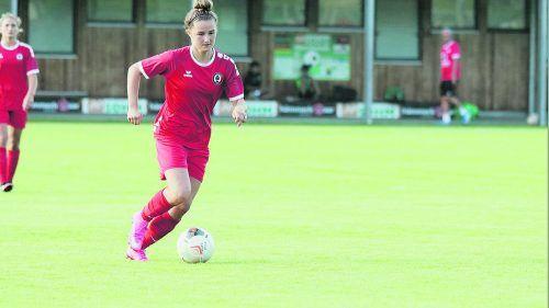 U-19-Nationalspielerin Carina Brunold will mit Dornbirn erneut den Pokalsieg feiern.Knobel