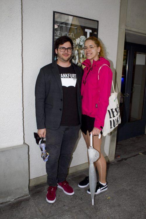 Unter den Gästen, Niklas Honeder und Anna Spaemann.