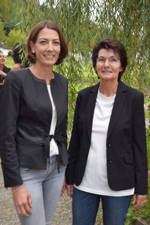 Veronika Marte und Inge Sulzer.ama