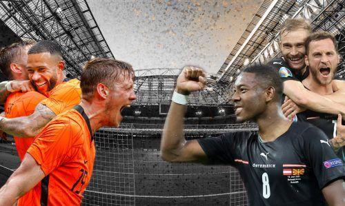 Viele Emotionen rund um das Spiel der beiden Gruppenfavoriten heute in Amsterdam. David Alaba und Co. könnte schon ein Remis zum Aufstieg ins Achtelfinale reichen. Doch beide Mannschaften wollen auf Sieg spielen.gepa
