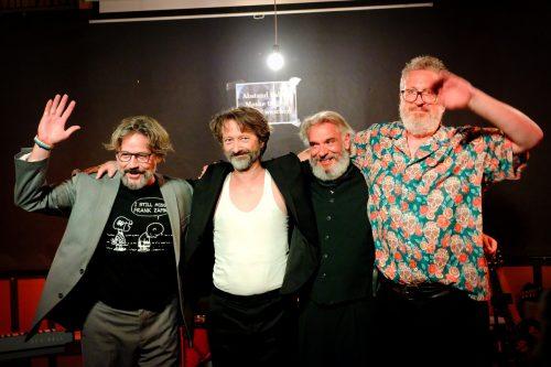 Vier alte Freunde haben sich zur Band Inverno zusammengetan. BLOCHER , Steurer, BÜCHEL-THURNHER