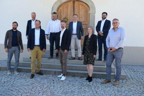 Vorderwälder Bürgermeister trafen sich zur Gründung der Finanzverwaltung Vorderwald. ME/3