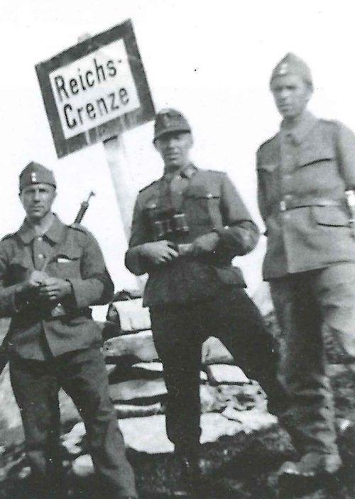 Während der NS-Zeit trennten Grat und Grenze auf den Bergen die Menschen von der Freiheit.Reinhold Konzett