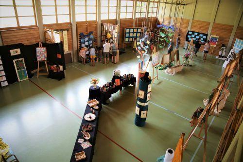Was die Kinder im vergangenen Jahr so alles geschaffen haben, konnten Eltern im Rahmen einer Ausstellung bestaunen. Uysal