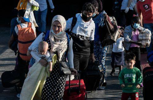 Weltweit 82,4 Millionen Flüchtlinge zählte das UNO-Flüchtlingshochkommissariat (UNHCR) bis Ende 2020. AFP
