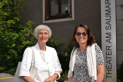 Zu Gast waren auch Jutta Gnaiger und Martina Pfeifer Steiner.