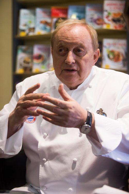 Alfons Schuhbeck ist einer der bekanntesten Köche Deutschlands. vn/Steurer