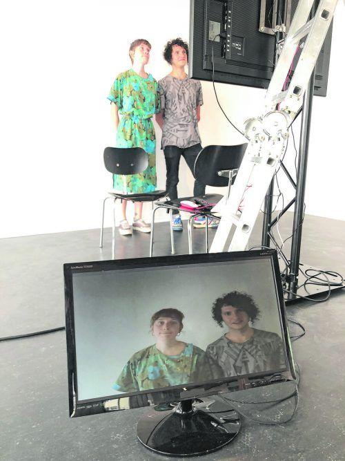 Anna Dot und Juan David Galindo Guarin bespielen die Galerie Lisi Hämmerle.VN/HF