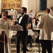 Mussorgskij in der weiträumigen Akustik einer Kirche