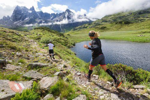 Auf drei verschiedenen Routen quer durchs Europaschutzgebiet Verwall werden sich die Läuferinnen und Läufer messen.MONTAFON