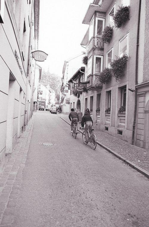 Bregenz, Maurachgasse, 1980