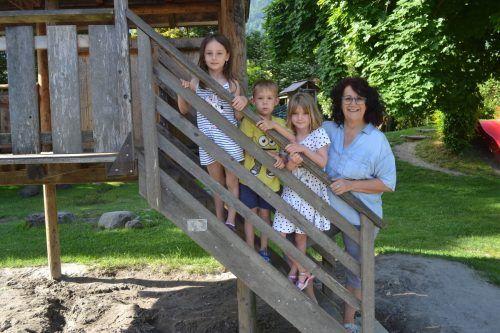 Brigitte Olschnögger, Kindergartenpädagogin im Kindergarten Nenzing-Dorf, geht in den Ruhestand.EM
