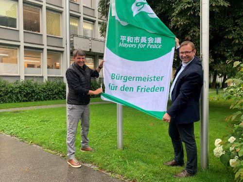 Bürgermeister Kurt Fischer und sein Vize Daniel Steinhofer.Gemeinde