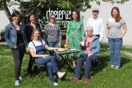 Das dreierlei-Team freut sich auf Gäste zum Fünf-Jahres-Jubiläum in Wolfurt.
