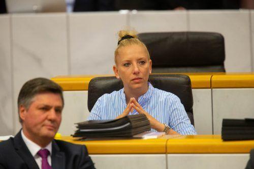 Der Antrag von FPÖ-Mandatarin Nicole Hosp wurde angenommen. VN/Hartinger