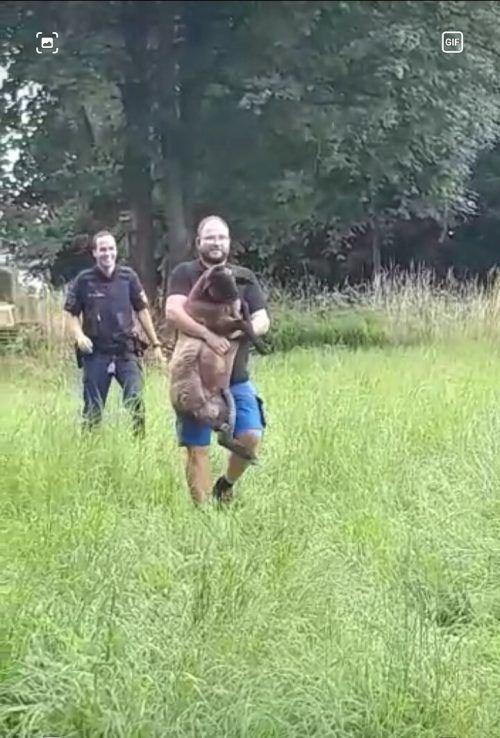 Der Schafhirte nahm sich seiner Schäfchen wieder an. Polizei