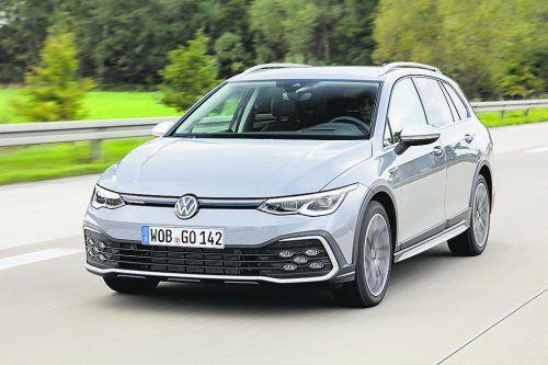 Der VW Golf steht in Europa wieder ganz oben am Siegertreppchen.werk