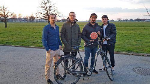 """Die Macher von """"FourOwn"""", einem Parksystem für Fahrräder, gehören zu den Smart-City-Gewinnern.Stadt"""