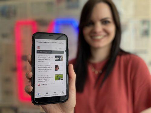 Die Vorarlberger Nachrichten sind nun in der Google News App vertreten. Das Angebot soll schrittweise auf andere Google-Dienste ausgeweitet werden. VN/RAuch