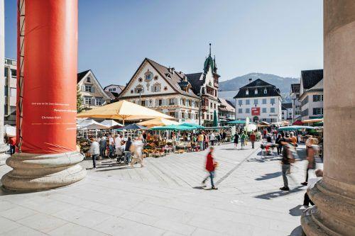 Dornbirn ist ein beliebtes Ziel für Städtetrips und punktet mit seinem Kleinstadtflair.Dornbirn Tourismus