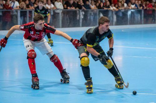 Das Vorarlberg-interne Duell beim Kyburg-Cup entschied Wolfurt mit 4:2 gegen Dornbirn für sich.LERCH