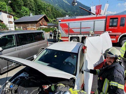 Ein ungewöhnlicher Einsatz für die Feuerwehr Schruns. Feuerwehr schruns