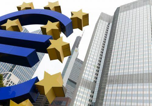 EZB in Frankfurt verschafft sich Spielraum bei Inflationsbekämpfung. DPA