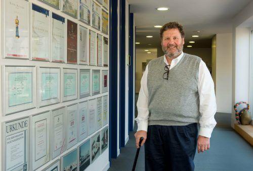 Josef Rupp, Vorstandsvorsitzender der Rupp AG. vn