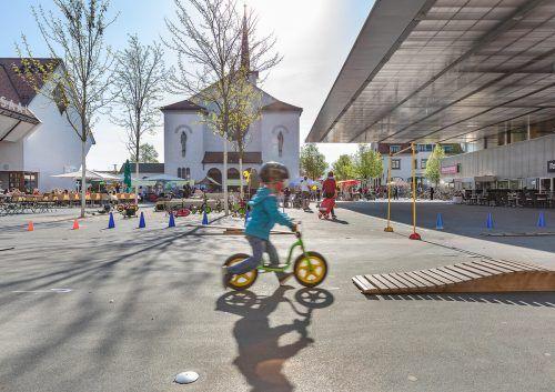 Für die Kleinsten gibt es die Rad.Lust-Malaktion.Gemeinde