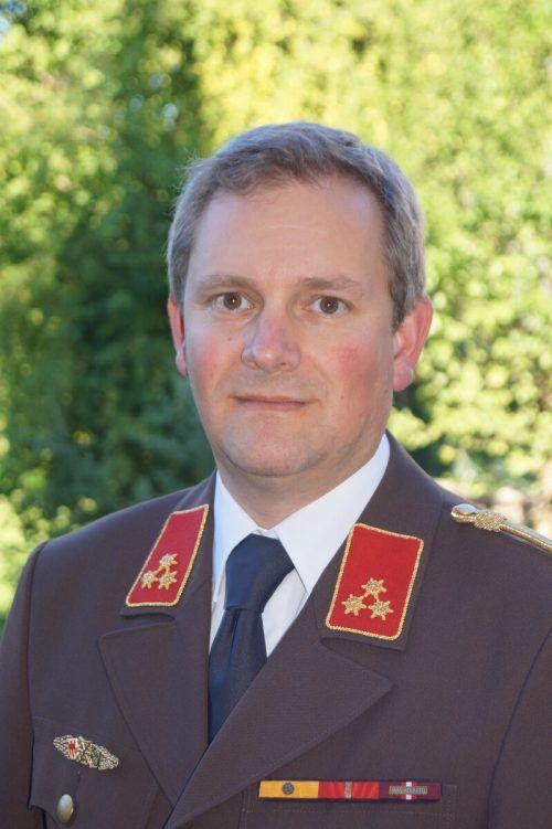 Gerold Hämmerle wird zum neuen Landesfeuerwehrarzt bestellt. LFV